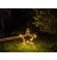 CASAYA LED-Gartenstecker »Garden d'light«, sternförmig, Höhe: 73 cm, Netzbetrieb-Thumbnail