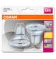 OSRAM LED-Leuchtmittel »STAR«, 3 W, GU10, 2700 K, warmweiß, 230 lm-Thumbnail