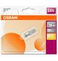 OSRAM LED-Leuchtmittel »Star Pin«, 2,4 W, G4, 2700 K, warmweiß, 300 lm-Thumbnail