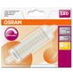 OSRAM LED-Leuchtmittel »SUPERSTAR LINE«, 15 W, R7s, 2700 K, warmweiß, 2000 lm-Thumbnail
