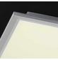 wofi® LED Panel silberfarben 1-flammig, dimmbar, inkl. Leuchtmittel in warmweiß-Thumbnail
