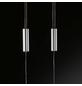 wofi® LED-Pendelleuchte chromfarben 1-flammig, inkl. Leuchtmittel in warmweiß-Thumbnail