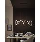 wofi® LED-Pendelleuchte »TORONTO«, dimmbar, inkl. Leuchtmittel in warmweiß-Thumbnail