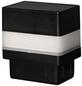 FLORAWORLD LED-Pfostenkappe, BxHxT: 6,5 x 7,1 x 4,5 cm, schwarz, für Vierkant-Zaunpfosten in 60 x 40 mm-Thumbnail