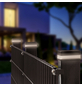 FLORAWORLD LED-Pfostenkappe, BxHxT: 6,55 x 7,1 x 6,55 cm, schwarz, für Vierkant-Zaunpfosten in 60 x 60 mm-Thumbnail