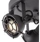 BRILLIANT LED-Rondell schwarz, inkl. Leuchtmittel-Thumbnail