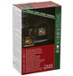 KONSTSMIDE LED-Schneelaterne, eckig, Höhe: 25 cm, Batteriebetrieb/Netzbetrieb-Thumbnail