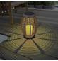 LED-Solarleuchte, oval, taupe-Thumbnail