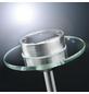PAULMANN LED-Solarleuchte »Ufo«, rund, mit Erdspieß, edelstahlfarben-Thumbnail