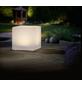 LED-Solarleuchte, würfelförmig, weiß-Thumbnail