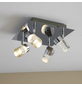 wofi® LED-Spot , 4-strahlig, inkl. Leuchtmittel in warmweiß-Thumbnail