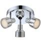 GLOBO LIGHTING LED-Spot »ROIS«, 3-strahlig, inkl. Leuchtmittel in warmweiß-Thumbnail