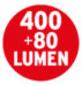 Brennenstuhl® LED-Stableuchte »HL 0400 A«, tageslichtweiß, inkl. Akku-Thumbnail