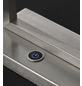 wofi® LED-Tischleuchte aluminiumfarben mit 10 W, H: 35 cm, LED  in Warmweiß-Thumbnail