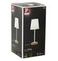 PAULMANN LED-Tischleuchte »Neordic Stellan« weiß/natur, Schirm-Ø x H: 15,5 x 40 cm, E27 ohne Leuchtmittel-Thumbnail