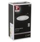 PAULMANN LED-Wand- und Deckenleuchte »Coin Slim«, Aluminium/Zink-Thumbnail