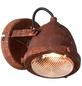 BRILLIANT LED-Wandleuchte rostfarben 1-flammig, GU10, inkl. Leuchtmittel in warmweiß-Thumbnail