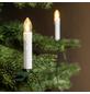 CASAYA LED-Weihnachtsbaumkerzen, warmweiß, Netzbetrieb, Kabellänge: 9 m-Thumbnail