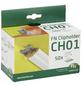 FN NEUHOFER HOLZ Leistenclip »CH01«, für Sockelleisten CH01, Metall-Thumbnail