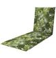 DOPPLER Liegenauflage »Living«, grün, Blätter, BxL: 60 x 195 cm-Thumbnail