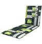 DOPPLER Liegenauflage »Spirit«, grün/grau, stein/blaetter, BxL: 60 x 195 cm-Thumbnail