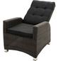 ploß® Loungesessel »Jardel«, BxTxH: 73  x 85  x 112  cm, Polyrattan/ Polyester/ Aluminium-Thumbnail