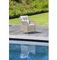 CASAYA Loungesessel »Nalepa«, BxHxT: 70 x 57 x 70 cm, Aluminium/Kunststoffgeflecht/Polyester-Thumbnail