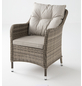 CASAYA Loungesessel »Nalepa«, BxTxH: 70  x 70  x 57  cm, Aluminium/ Kunststoffgeflecht/ Polyester-Thumbnail