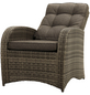 ploß® Loungesessel »Rabida Comfort«, BxTxH: 73  x 85  x 112  cm, Polyester/ Aluminium/ Polyrattan-Thumbnail