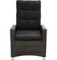 ploß® Loungesessel »Rocking Comfort«, BxTxH: 73  x 85  x 112  cm, Polyester/ Aluminium/ Polyrattan-Thumbnail