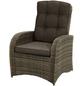ploß® Loungesessel »Sydney Comfort«, BxTxH: 73  x 85  x 112  cm, Polyrattan/ Polyester/ Aluminium-Thumbnail