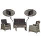 SIENA GARDEN Loungeset, 4 Sitzplätze-Thumbnail