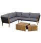 SIENA GARDEN Loungeset, 5 Sitzplätze, inkl. Auflagen-Thumbnail