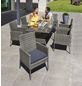 MERXX Loungeset »Costa Rica«, 6 Sitzplätze, inkl. Auflagen-Thumbnail