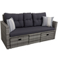 GARDEN PLEASURE Loungesofa, 2 Sitzplätze-Thumbnail