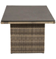 ploß® Loungetisch »Rabida«, mit Spraystone-Tischplatte, BxLxH: 85x140x68 cm-Thumbnail