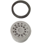 WELLWATER Luftsprudler, Kunststoff, grau, m22/m24-Thumbnail