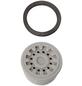 CORNAT Luftsprudler, Kunststoff, grau, m24/m22-Thumbnail