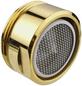 """WELLWATER Luftsprudler, Messing, goldfarben, M 24 x 1""""-Thumbnail"""