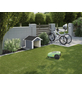 WEKA Mähroboter-Garage, BxHxT: 80 x 71 x 87 cm, grau/weiß-Thumbnail