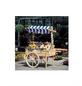 PROMADINO Marktwagen, B x L x H: 173 x 82 x 184 cm, kiefernholz/baumwolle, natur-Thumbnail