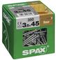 SPAX Massivholzfußbödenschraube, T-STAR plus, 350 Stk., 3,5 x 45 mm-Thumbnail
