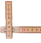 STABILA Maßstab »600 N-S«, 2000 mm-Thumbnail