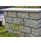 EURO STONE Mauerstein-Abdeckplatte, BxLxH: 100 x 3 x 30 cm, aus Granit, geflammt-Thumbnail