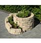 MR. GARDENER Mauerstein »Kräuterspirale«, BxLxH: 160 x 140 x 60 cm, aus Beton, strukturiert-Thumbnail