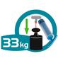WENKO Maxiablage »Vacuum-Loc®«, chromfarben-Thumbnail