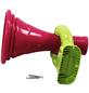 AKUBI Megaphone, BxHxL: 16,3 x 26 x 16,3 cm, pink/grün-Thumbnail