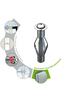 TOX Metall - Hohlraumdübel, Stahl | verzinkt, 2 Stück, 12 x 65 mm-Thumbnail