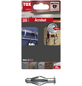 TOX Metall - Hohlraumdübel, Stahl | verzinkt, 4 Stück, 12 x 52 mm-Thumbnail