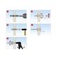 TOX Metall - Hohlraumdübel, Stahl | verzinkt, 4 Stück, 8 x 38 mm-Thumbnail